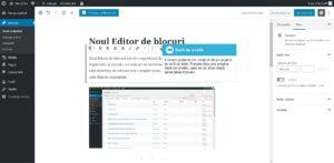 Blocuri Gutenberg în Wordpress